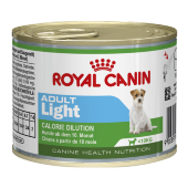 Купить онлайн  ROYAL CANIN ADULT LIGHT - Роял Канин для собак с 10 месяцев до 8 лет, склонных к полноте - 195 гр в Зубастик-ДВ (интернет-магазин зоотоваров) с доставкой по Хабаровску и по всей России.