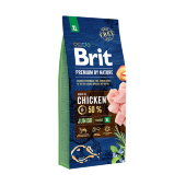 Купить онлайн Brit Premium by Nature Junior XL для молодых собак гигантских пород в Зубастик-ДВ (интернет-магазин зоотоваров) с доставкой по Хабаровску и по всей России.